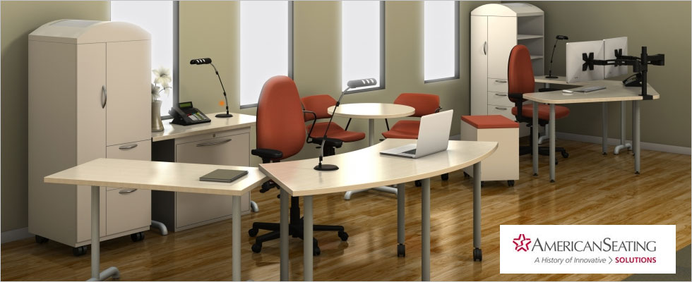 Marvelous AmericanSeating Office Desk Installation Photo Gallery