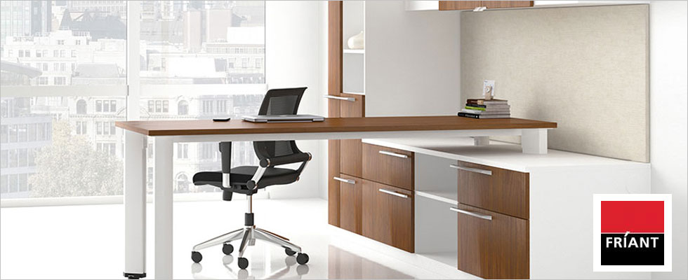 Friant Office Furniture Installation
