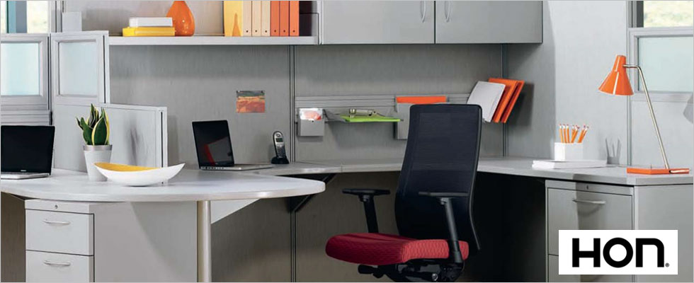 Hon Office Furniture Installation - Desk
