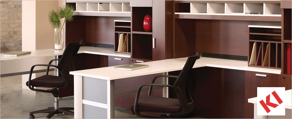 Image of KI office desk