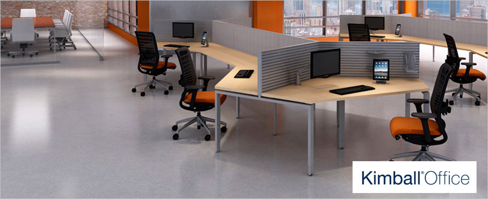 Kimball Office Furniture Installation
